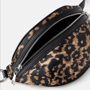 NWOT Zara Alexander wang dupe leopard belt bag
